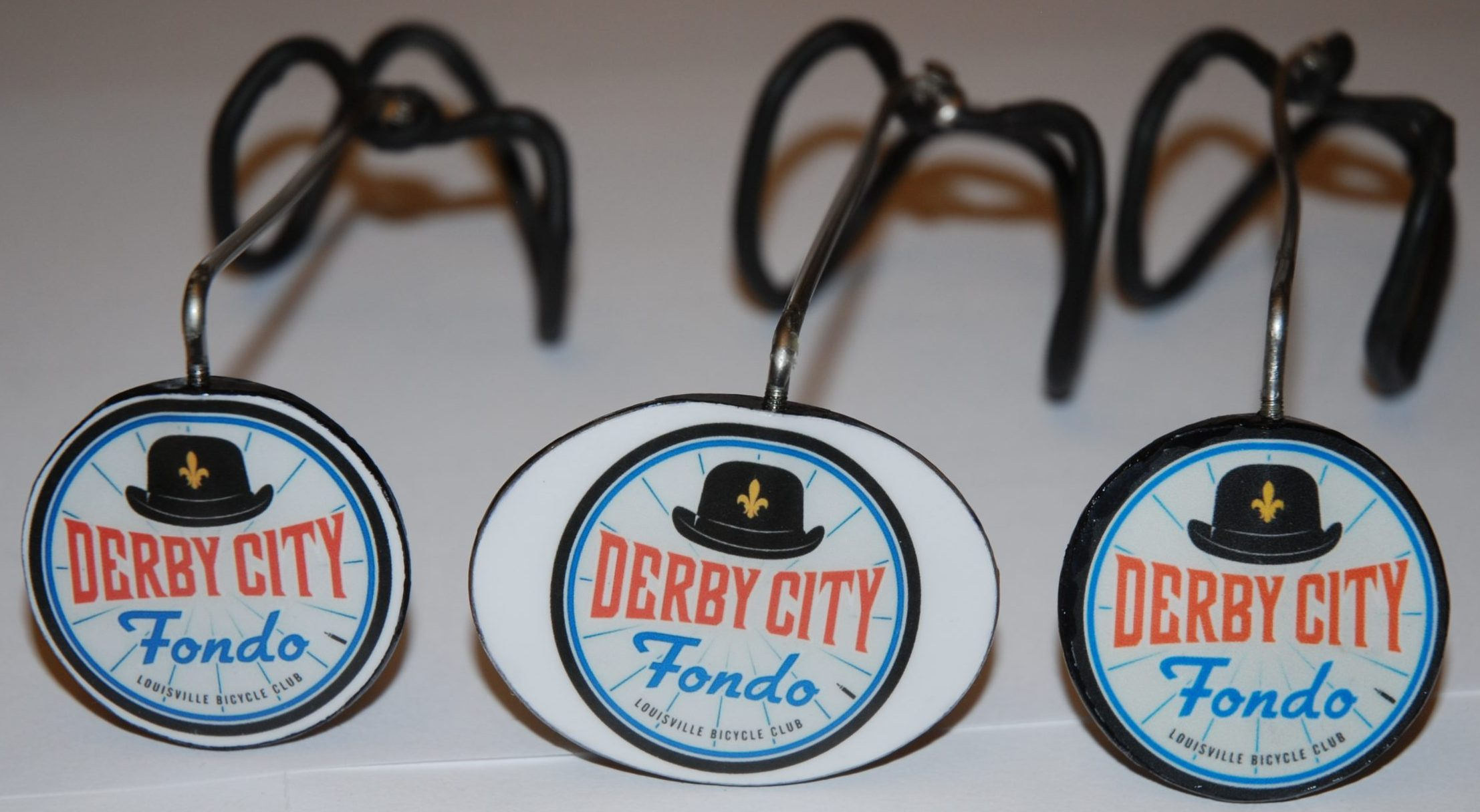New Derby City Fondo Logo Mirrors